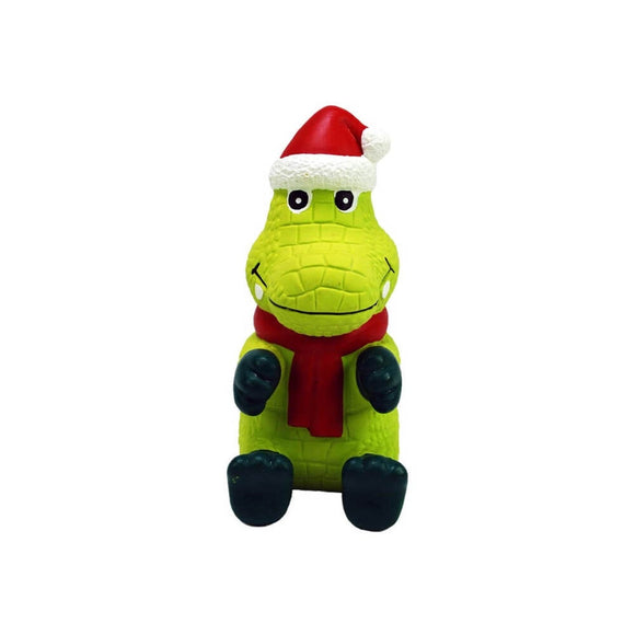 KONG Wiggi Santa Alligator