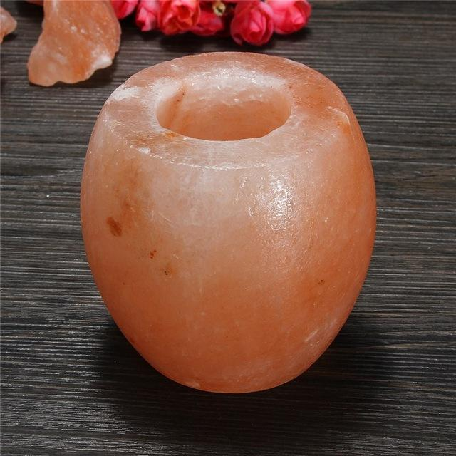 Himalayan Salt Crystal Candle Holder