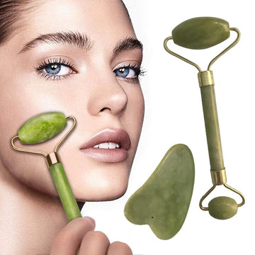 Royal Jade Facial Massage & Pore Cleansing Roller