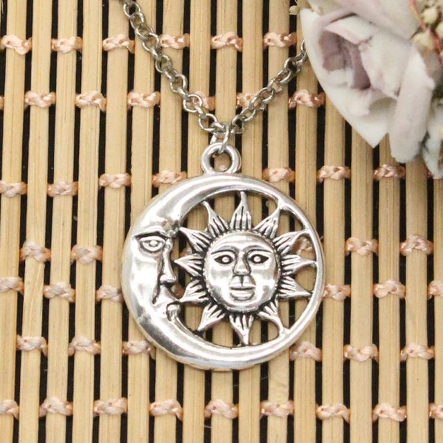 Sun & Moon Necklace!