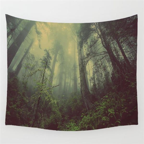 Tapestry - Moon WItch Forest Tapestry