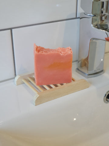 Citrus Burst soap full of juicy orange and lemon fragrance