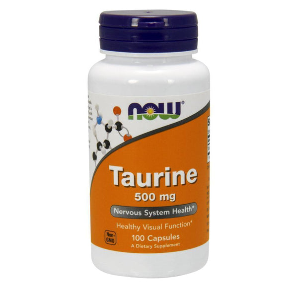 NOW Foods Amino NOW Foods Taurine 500mg [100 Caps]