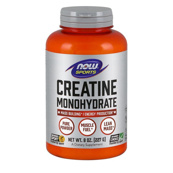 NOW Foods Creatine Monohydrate Unflavoured NOW Foods Sports Creatine Monohydrate [227g]