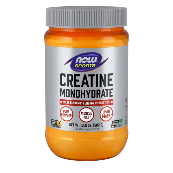 NOW Foods Creatine Monohydrate Unflavoured NOW Foods Sports Creatine Monohydrate [600g]