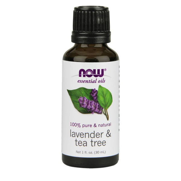 NOW Foods Essential Oil Lavender & Tea Tree Essential Oil [30ml]