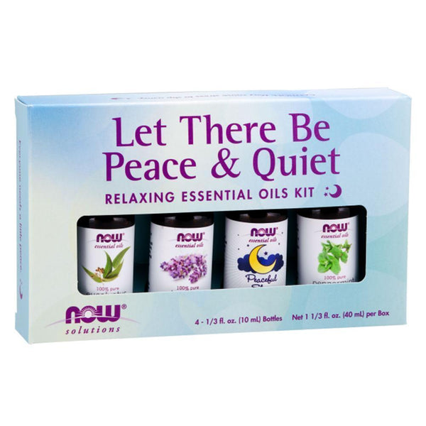 NOW Foods Essential Oil NOW Foods Essential Oils Let There Be Peace & Quiet Kit