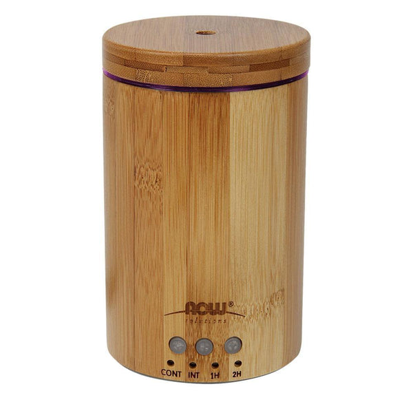 NOW Foods Essential Oil NOW Foods Solutions Ultrasonic Bamboo Essential Oil Diffuser