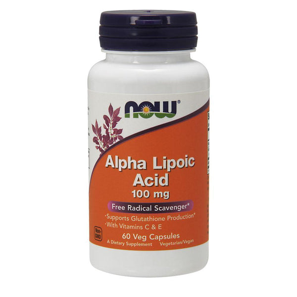 NOW Foods General Health Alpha Lipoic Acid 100mg [60 Caps]