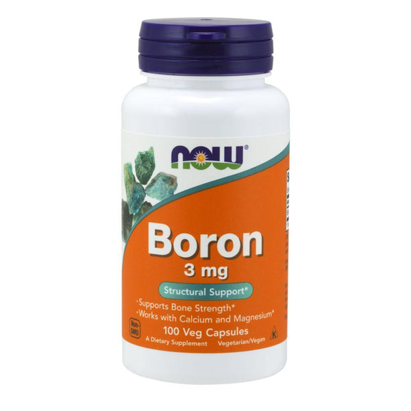 NOW Foods General Health Boron 3mg [100 Caps]