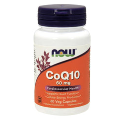 NOW Foods General Health CoQ10 60mg [60  Caps]