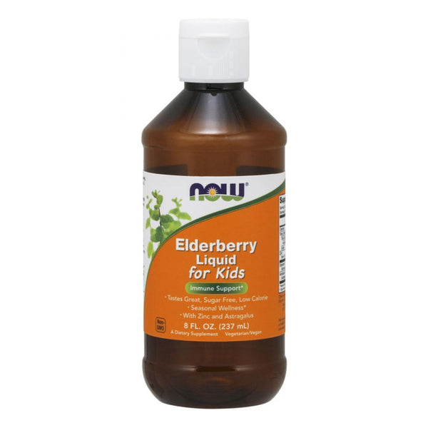NOW Foods General Health Elderberry NOW Foods Elderberry Liquid For Kids [237ml]
