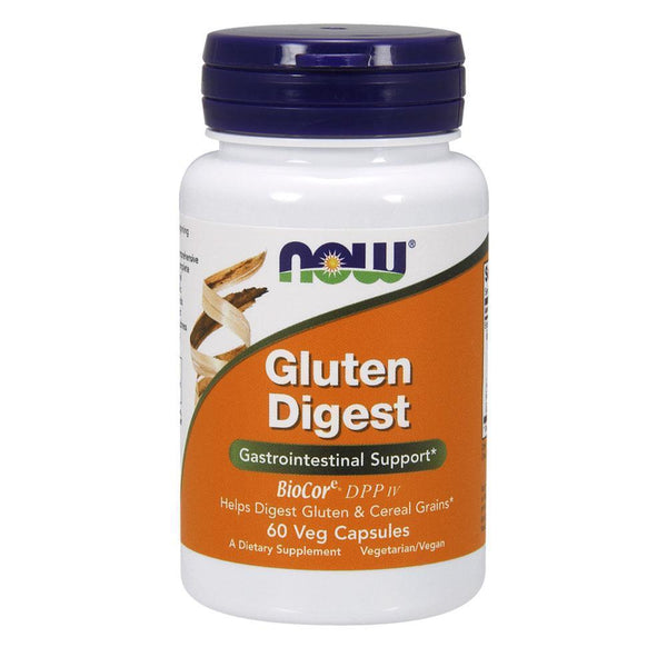 NOW Foods General Health Gluten Digest [60 Caps]