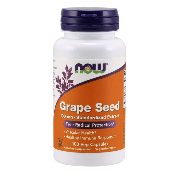 NOW Foods General Health Grape Seed Extract 100mg [100 Caps]