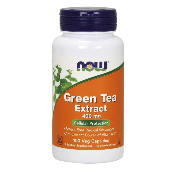 NOW Foods General Health Green Tea Extract 400mg [100 Caps]