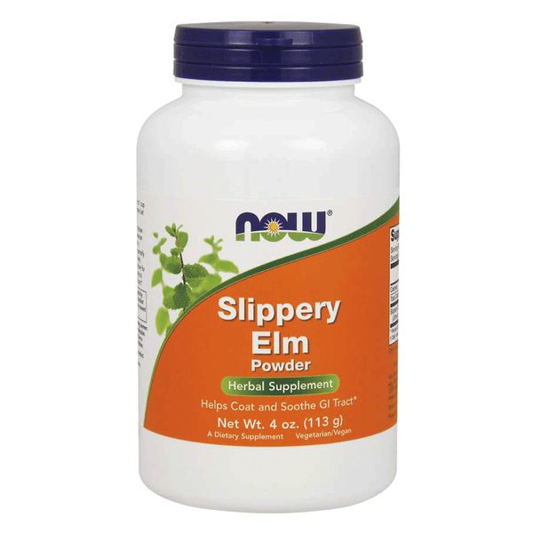 NOW Foods General Health Unflavoured NOW Foods Slippery Elm Powder [113g]