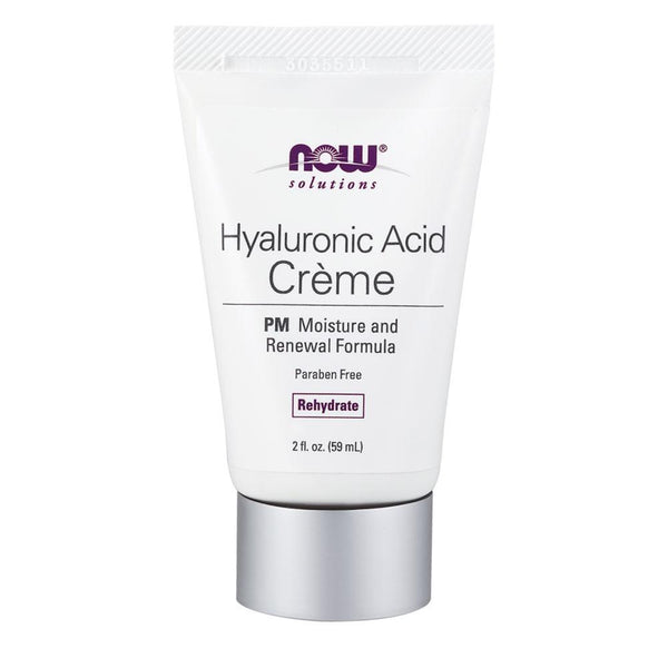 NOW Foods Health & Beauty Solutions Hyalruonic Acid Creme [59ml]