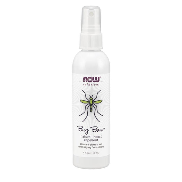 NOW Foods Insect Repellant NOW Foods Solutions Bug Ban Spray [118ml]