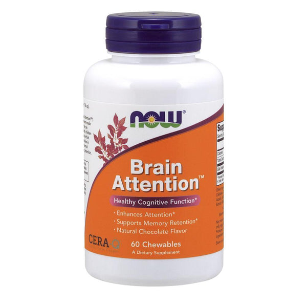NOW Foods Nootropic Brain Attention [60 Chews]