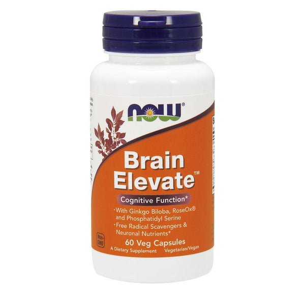NOW Foods Nootropic Brain Elevate [60 Caps]