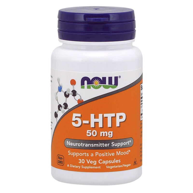 NOW Foods Nootropic NOW Foods 5-HTP 50mg [30 Caps]