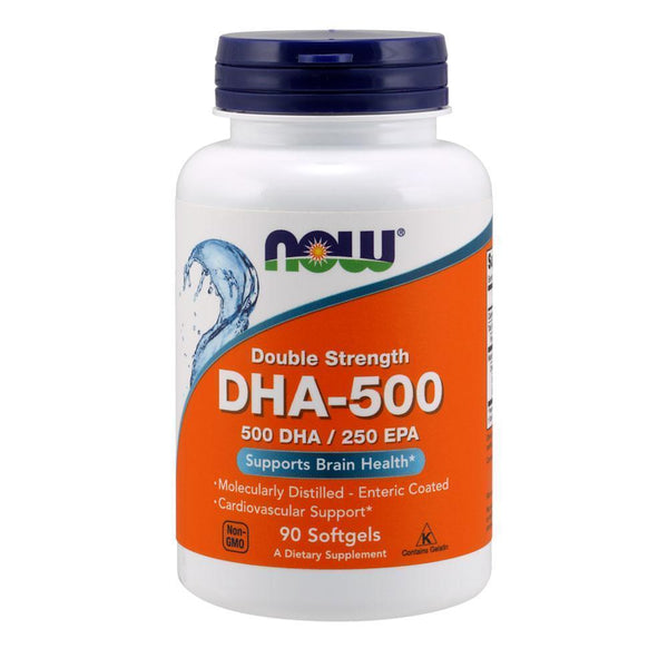 NOW Foods Omegas DHA-500 [90 Gels]