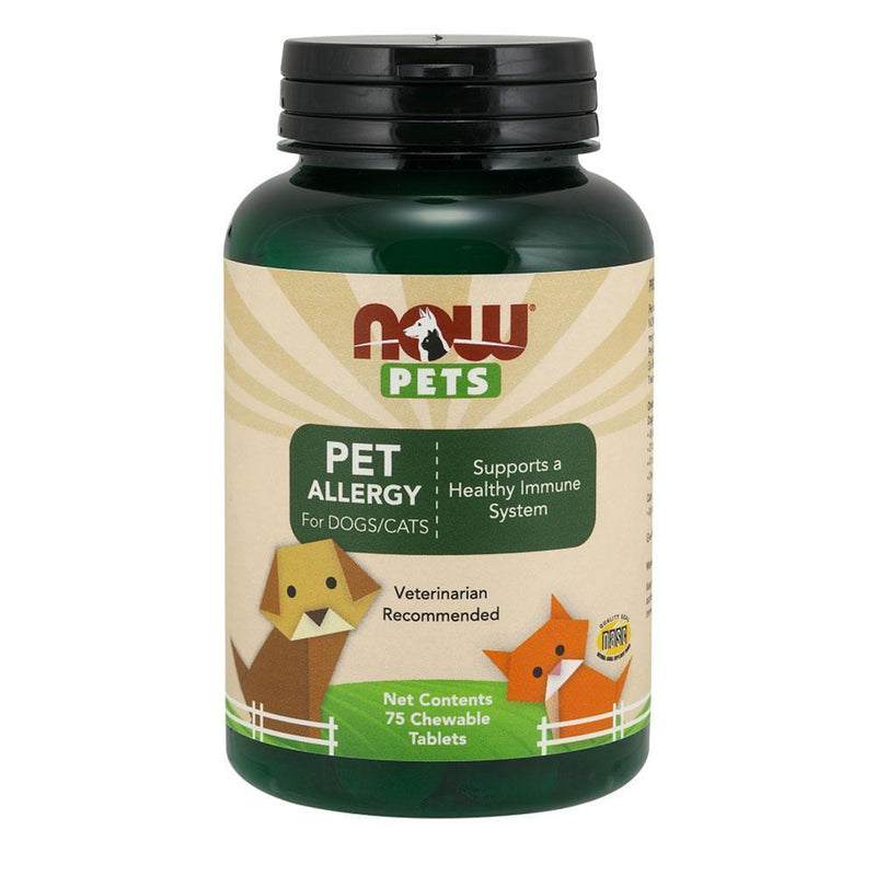 NOW Foods Pet Health NOW Foods Pets Pet Allergy [75 Chews]