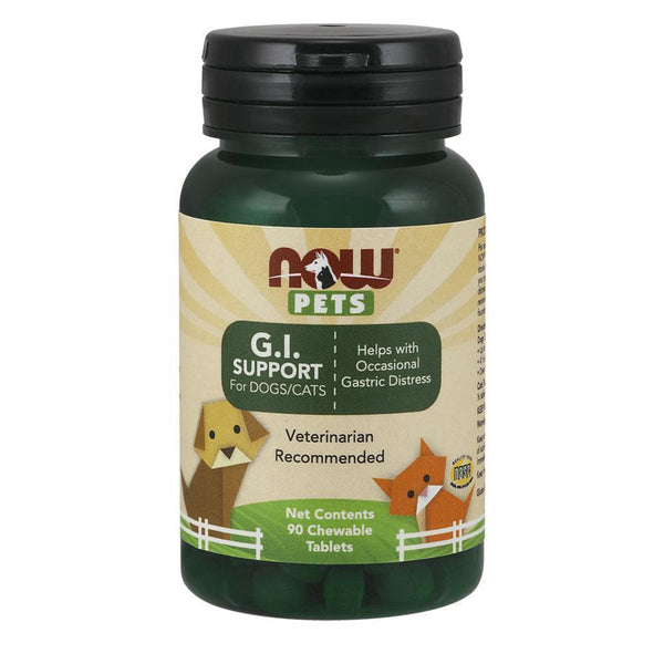 NOW Foods Pet Health Pets GI Support [90 Chews]