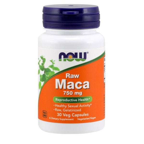 NOW Foods Sexual Health Maca 750mg [30 Caps]