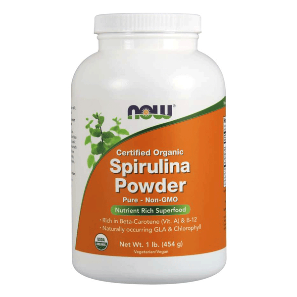 NOW Foods Superfood Unflavoured NOW Foods Spirulina Powder Organic [454g]