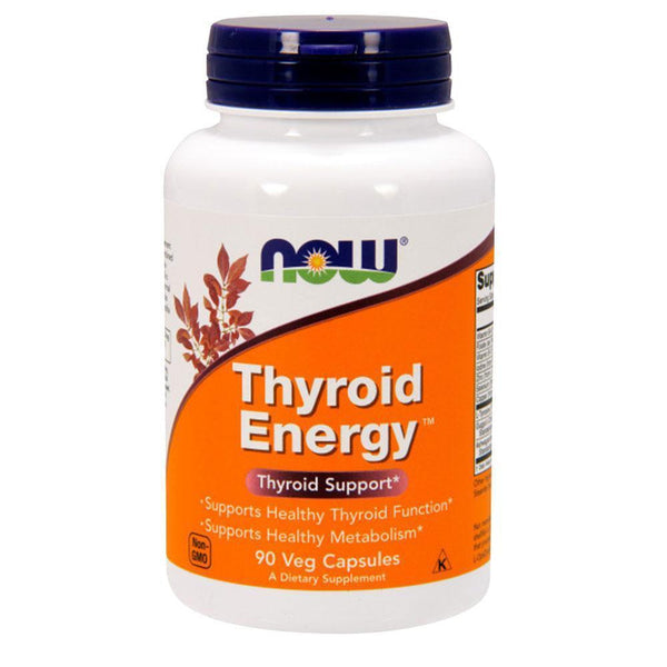NOW Foods Thyroid Support Thyroid Energy [90 Caps]