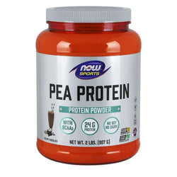 NOW Foods Vegan Protein Chocolate Pea Protein [907g]