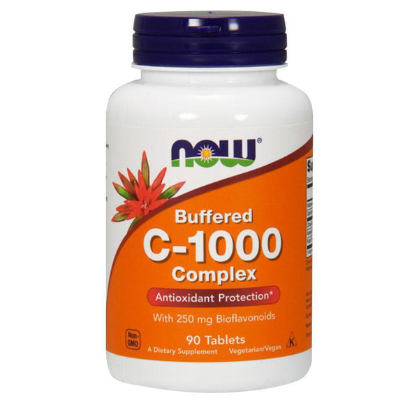 NOW Foods Vitamin C C-1000 Complex Buffered [90 Tabs]