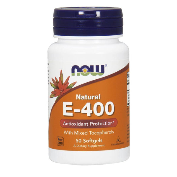 NOW Foods Vitamin E E-400 [50 Gels]