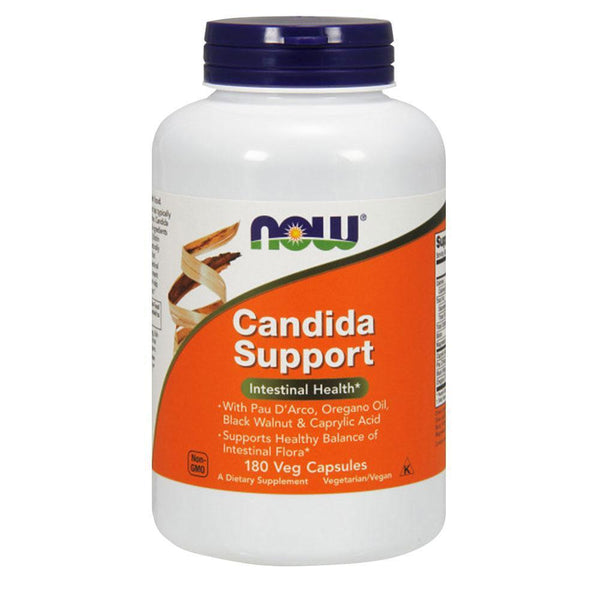 NOW Foods Vitamins & Minerals Candida Support [180 Caps]