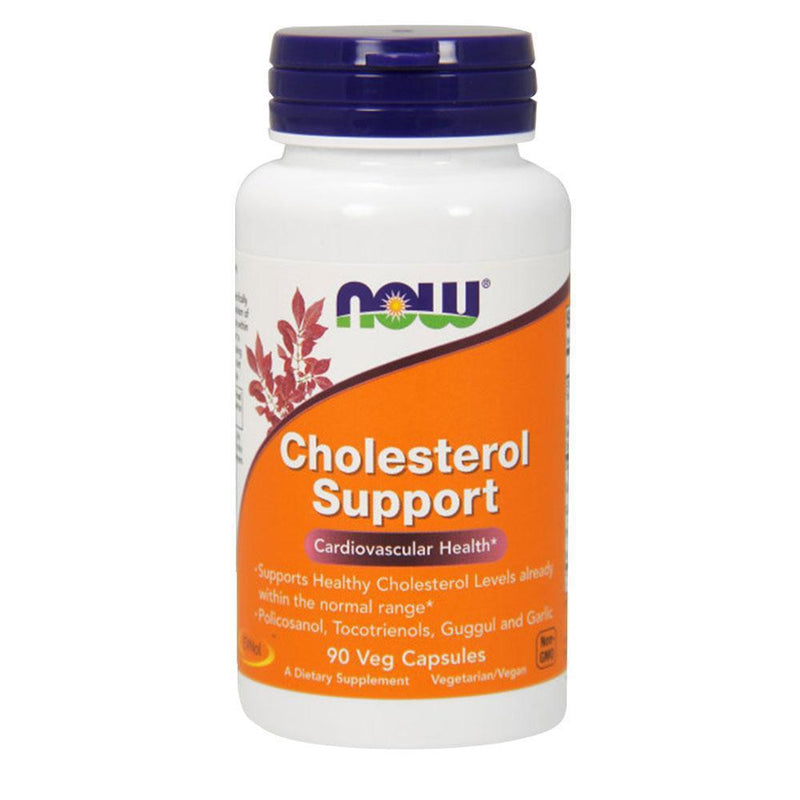 NOW Foods Vitamins & Minerals Cholesterol Support [90 Caps]