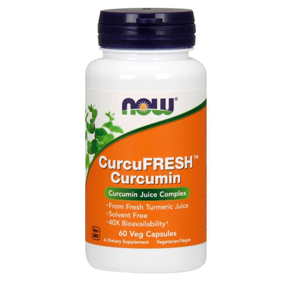 NOW Foods Vitamins & Minerals CurcuFresh 500mg [60 Caps]