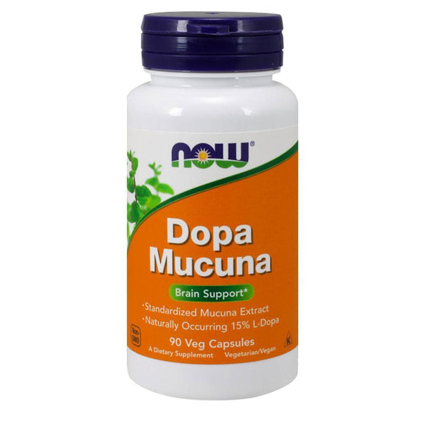 NOW Foods Vitamins & Minerals Dopa Mucuna [90 Caps]