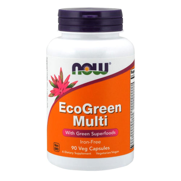 NOW Foods Vitamins & Minerals EcoGreen Multi [90 Caps]