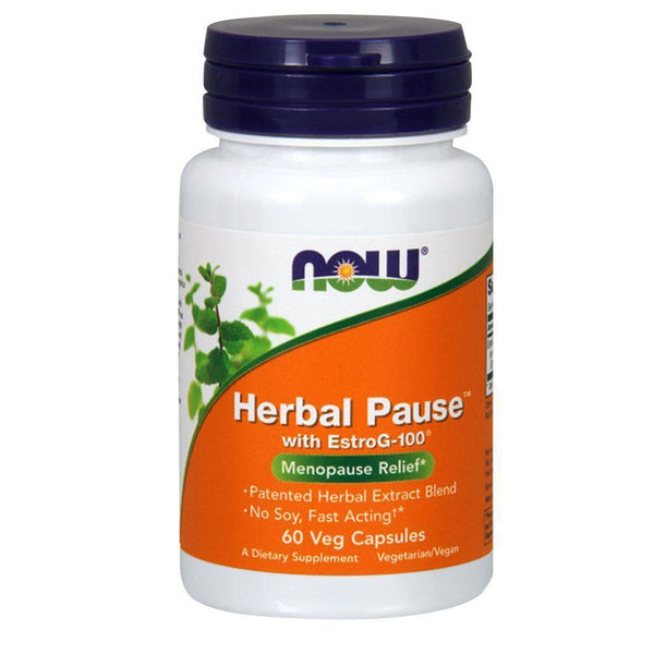 NOW Foods Vitamins & Minerals Herbal Pause [60 Caps]