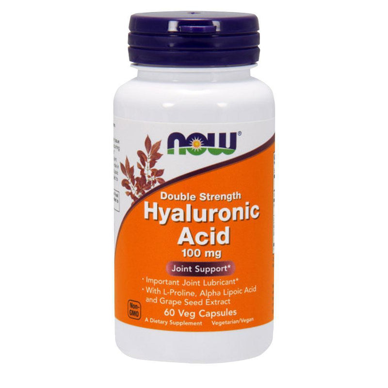 NOW Foods Vitamins & Minerals Hyaluronic Acid 100mg [60 Caps]