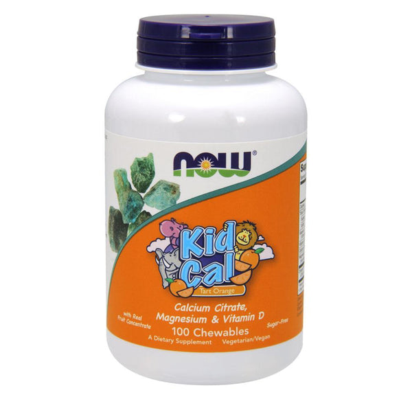 NOW Foods Vitamins & Minerals NOW Foods Kid Cal [100 Chews]