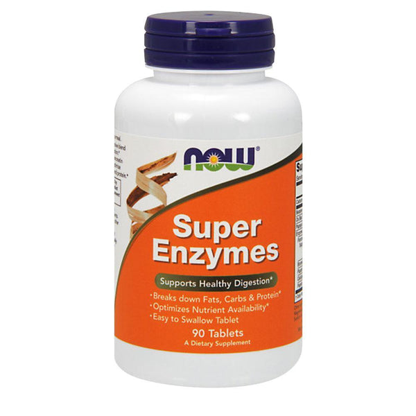 NOW Foods Vitamins & Minerals Super Enzymes [90 Tabs]