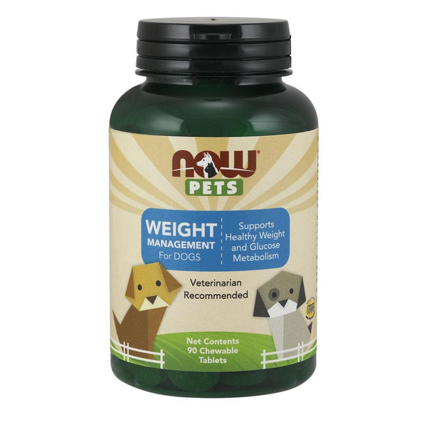 NOW Pets Pet Health Weight Management For Dogs [90 Chews]