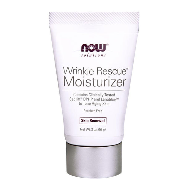 NOW Solutions Health & Beauty NOW Foods Solutions Wrinkle Rescue Moisturizer [57g]