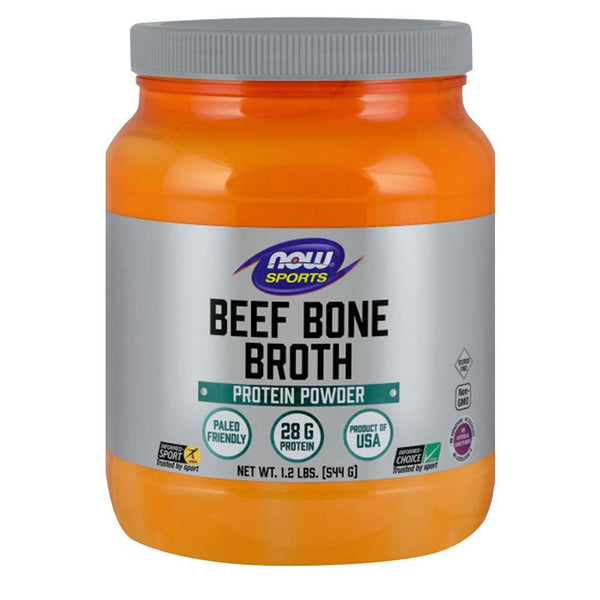 NOW Sports Beef Bone Broth Protein Beef Bone Broth [540g]