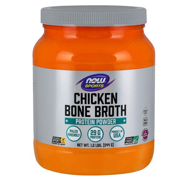 NOW Sports Chicken Bone Broth Protein Chicken Bone Broth [540g]