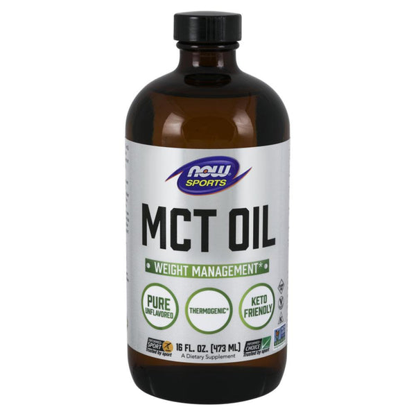 NOW Sports Essential Fatty Acids MCT Oil [470ml]