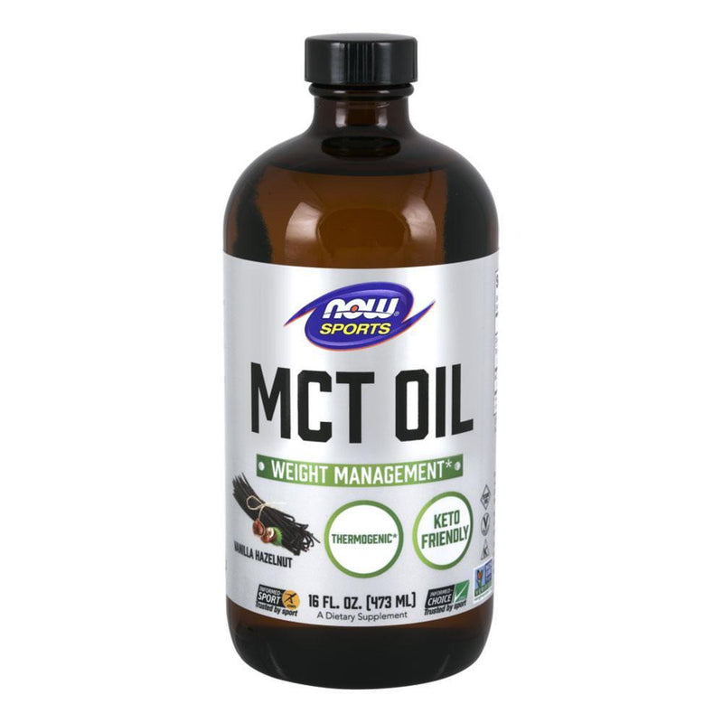 NOW Sports Essential Fatty Acids Vanilla Hazelnut MCT Oil Vanilla Hazelnut [470ml]
