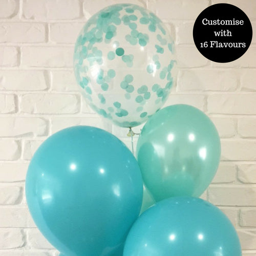 Mix & Match Circle Confetti Filled 30cm